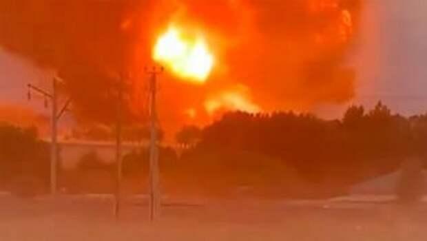 Произошел взрыв на оружейном заводе Польши