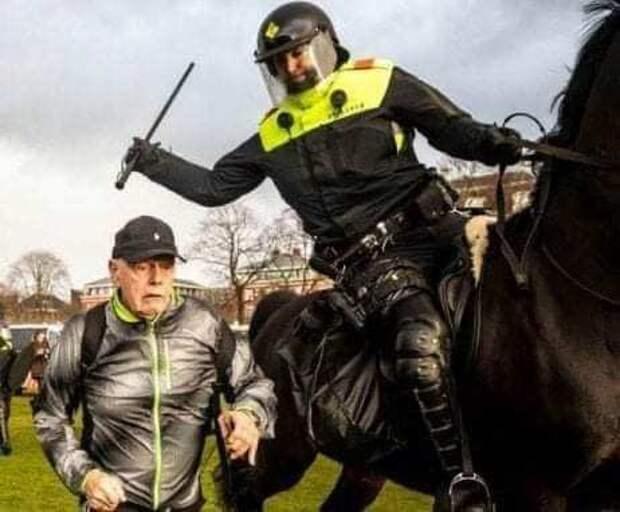 «Это совсем другое». Запад проигнорировал беспредел нидерландской полиции