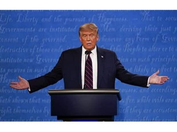 Трамп фактически отказался гарантировать мирную передачу власти после выборов