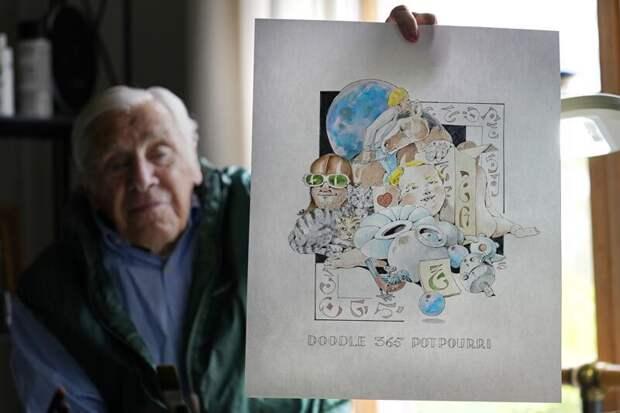 Пенсионер за год карантина превратился в востребованного художника