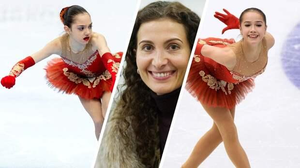 Загитова рассказала, как донашивала платье за Медведевой