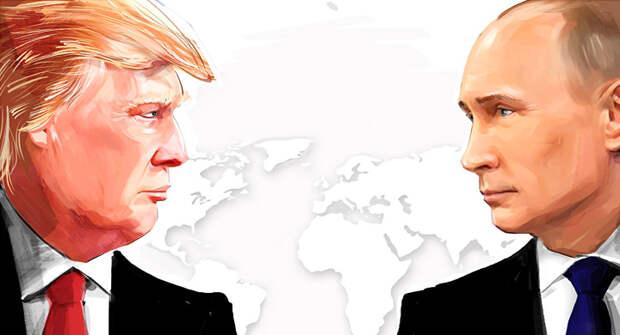 Народная поддержка: Трамп vs Путин