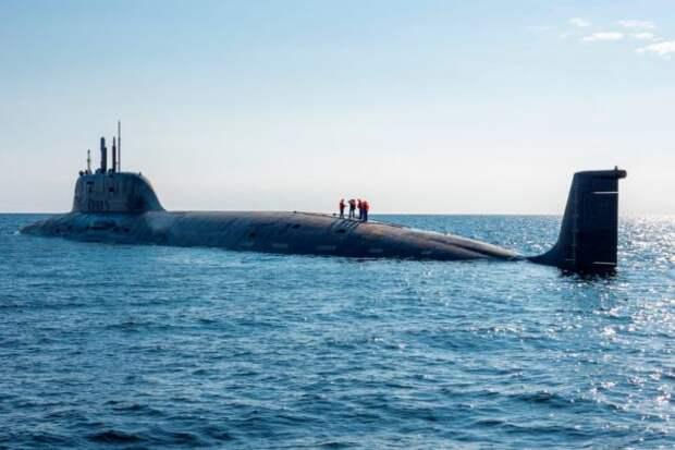 Атомную подлодку «Казань» примут в состав ВМФ 7 мая