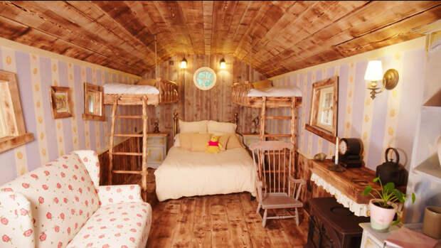 В Англии построили дом Винни-Пуха для посуточного съема