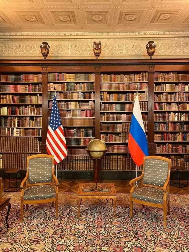 Суверенитеты эти начинаются там, где заканчиваются интересы США и РФ