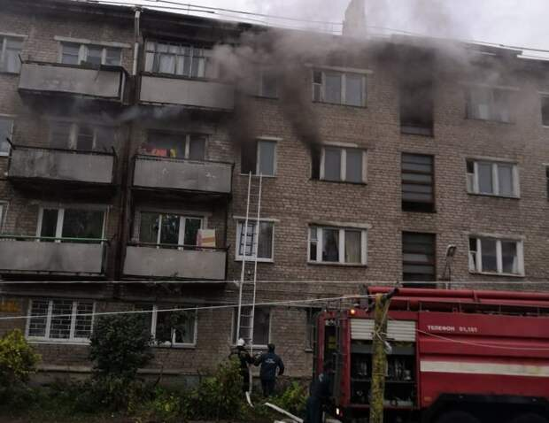 Следователи назвали предположительную причину пожара на улице Орджоникидзе в Ижевске