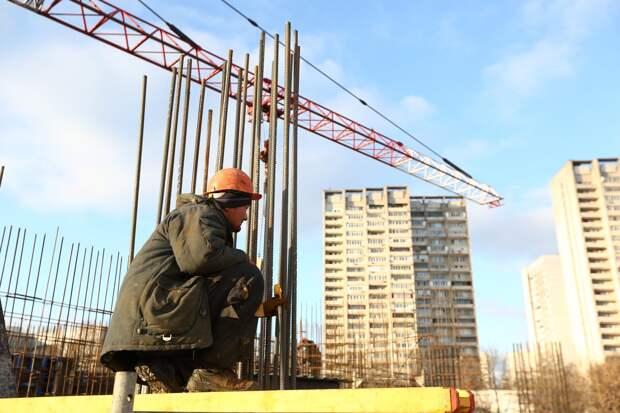 В Марьиной роще завершается строительство многофункционального комплекса