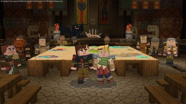 """Mojang выпустила бесплатное DLC для Minecraft Bedrock """"Как Приручить Дракона"""""""