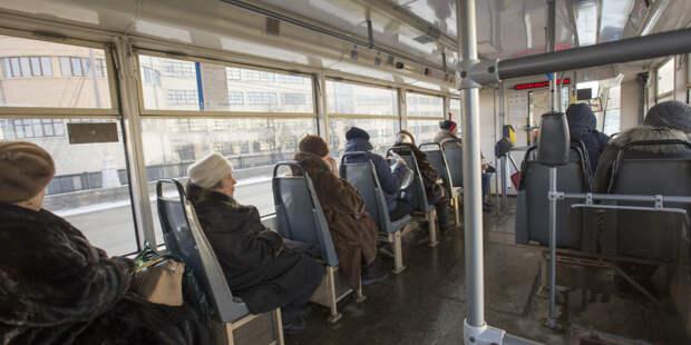 Калининградский водитель автобуса оштрафован за переключение передач шваброй (ВИДЕО)