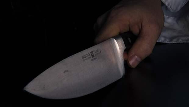 В Подольске 33‑летняя женщина порезала ножом своего собутыльника