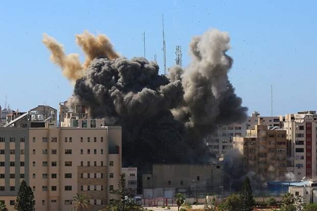 Израиль нанес удар по дому одного из лидеров ХАМАС