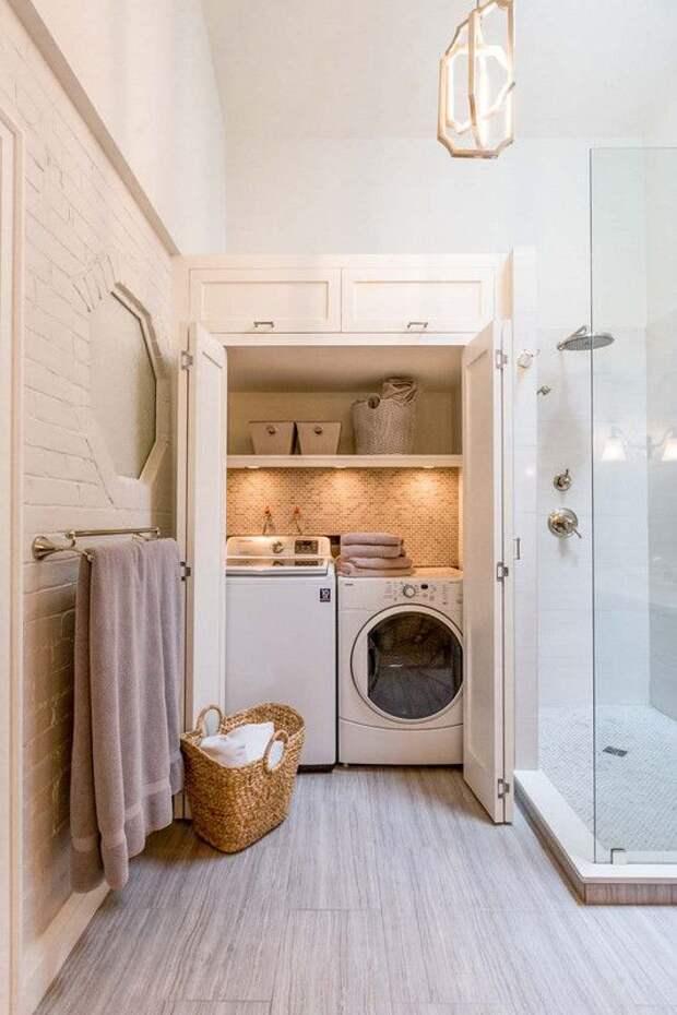 25 способов спрятать стиральную машину дома