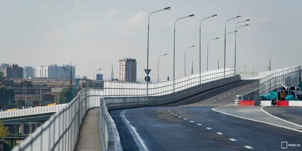 На участке СВХ до Дмитровского построят 22 километра дорог и 10 сооружений