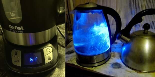 прозрачный чайник