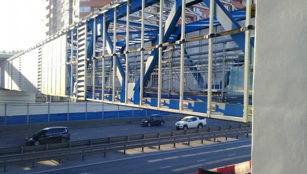 Строительство перехода на Старосимферопольском шоссе завершили на 90%