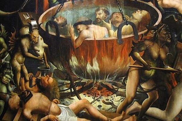 Черный шабаш. Похотливые ведьмы, кровавые пытки и дьявольские козни Средневековья.