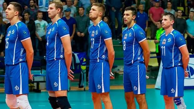 Тесты на коронавирус большинства волейболистов московского «Динамо» дали положительный результат