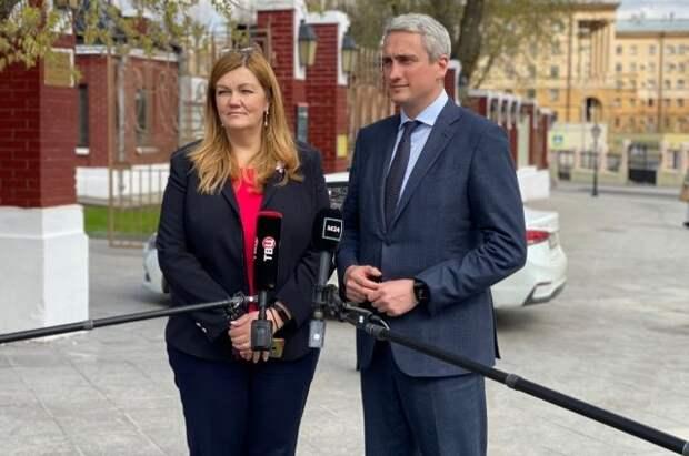 Член ОП Нифантьев обсудил с Ярославской маткапитал на третьего ребенка