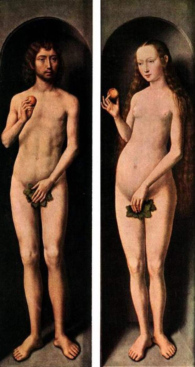 Ганс Мемлинг - Адам и Ева