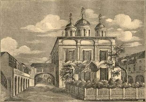 Москва, которой нет. Вознесенский женский монастырь