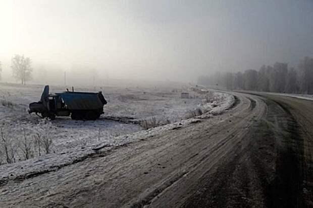 Сильный туман стал причиной ДТП в Башкирии, в котором погибло два человека