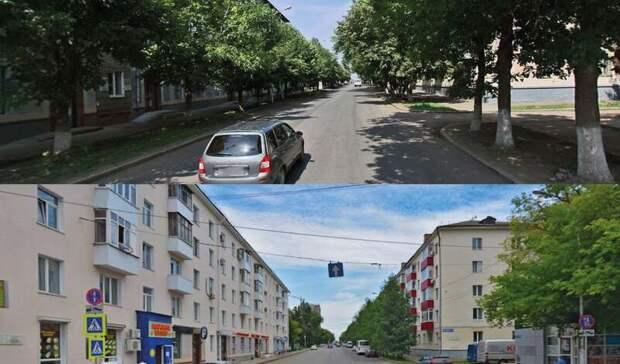 Жительница Уфы показала, как выглядели улицы города до вырубки деревьев