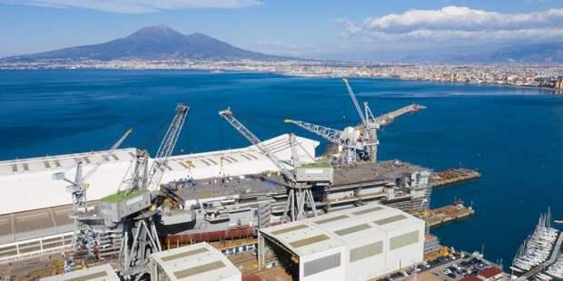 Универсальный десантный корабль Trieste (L 9890). Будущее ВМС Италии