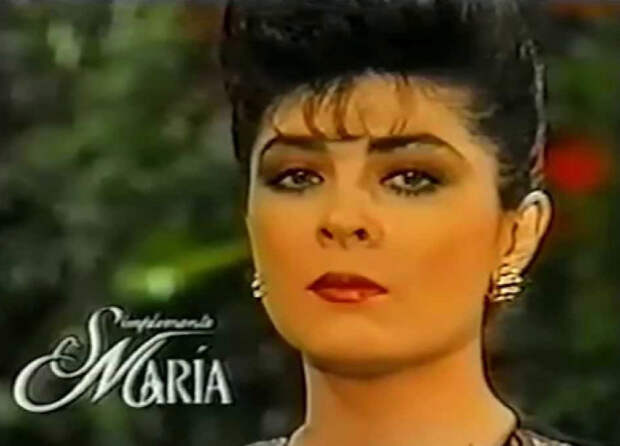 Посмотри как выглядит сейчас актриса сыгравшая главную роль в сериале   «Просто Мария».