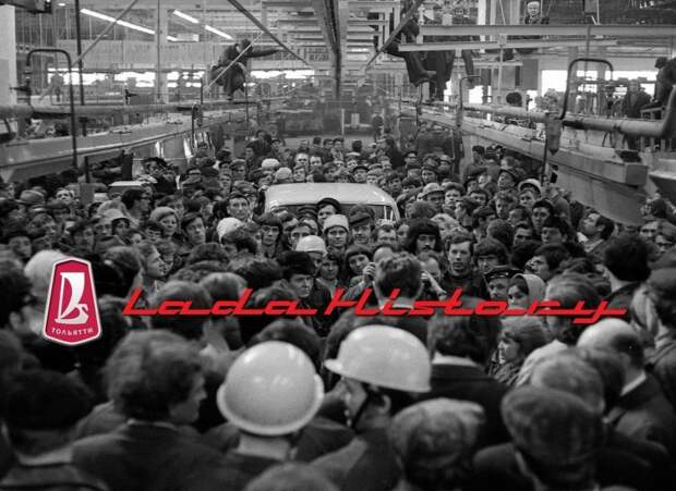 Ниве — 42! Уникальные кадры сборки первого автомобиля авто, автоваз, автозавод, автомобили, ваз, ваз 2121, нива, ретро фото