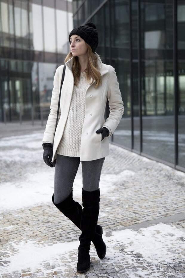 5 элементов модного стиля Твигги в зимней одежде 2020-2021
