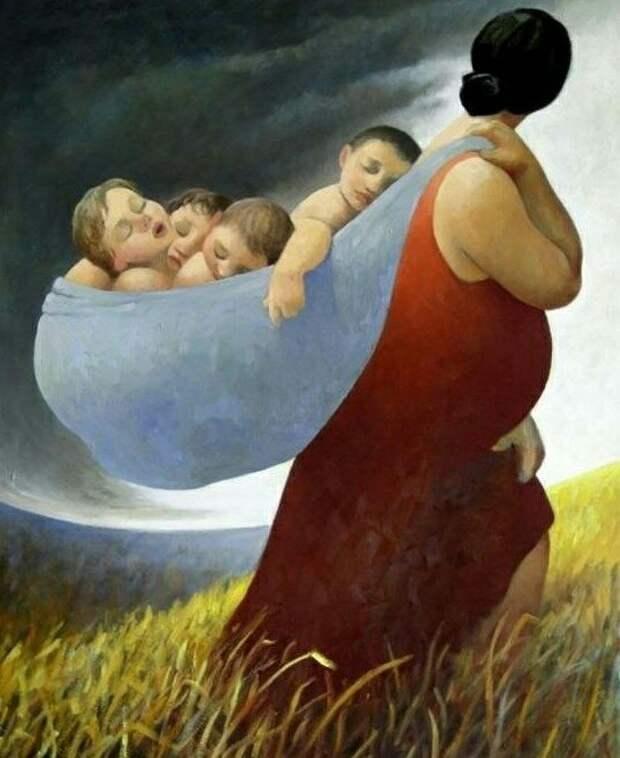 БЕСПОКОЙНАЯ МАТЬ В ГОСТЯХ У БОГА.