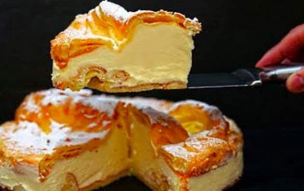 Безумно вкусный и простой в приготовлении заварной торт Карпатка, пошаговый рецепт замечательного десерта