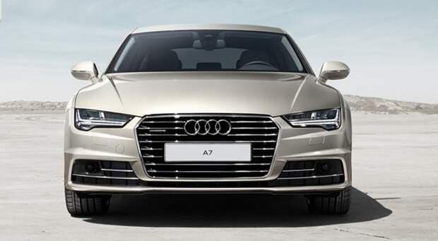 Компания Audi презентовала лимитированную серию седана A7 L