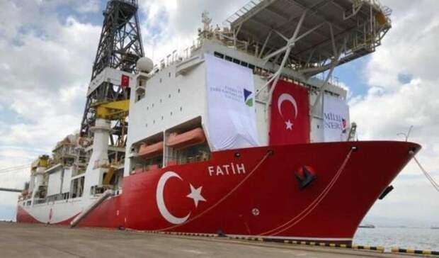 Крупное газовое месторождение открыла Турция вЧерном море