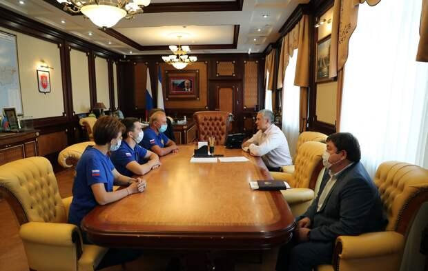Специалисты из других регионов России прибыли в Крым для работы в ковидных госпиталях