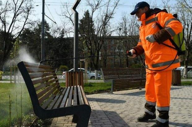 В Краснодаре улицу Красную обработают от коронавируса в субботу