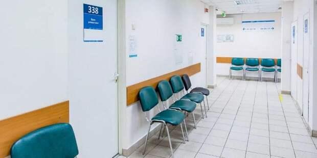 Депутат Мосгордумы Мария Киселёва рассказала о новой поликлинике в районе Строгино. Фото: mos.ru