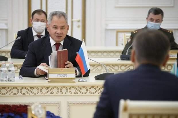 Сергей Шойгу прибыл с рабочим визитом в Душанбе