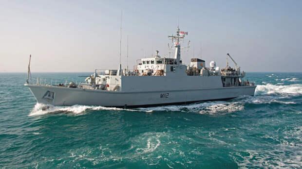 Передача пары британских тральщиков в ВМС Украины оставила Россию равнодушной