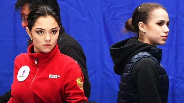 Загитова и Медведева назвали самые сильные качества друг друга