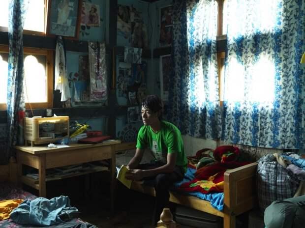 Житель Бутана