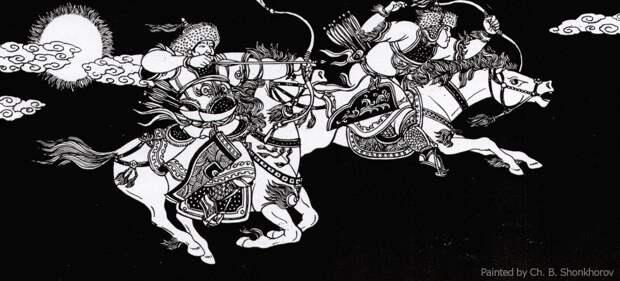 Героический эпос монгольских народов