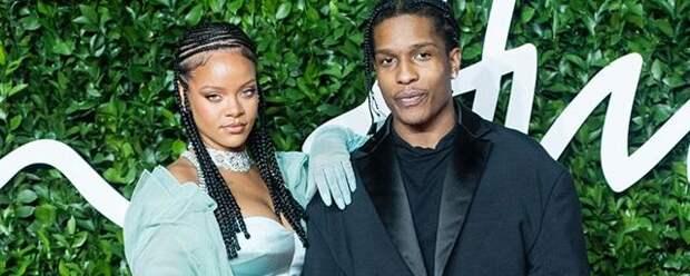 Рэпер A$AP Rocky подтвердил слухи об отношения с Рианной
