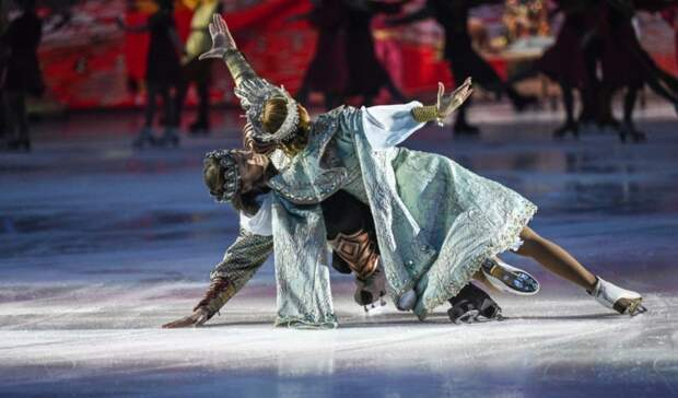 160 кубометров льда зальют для шоу Татьяны Навки «Руслан иЛюдмила» вСочи