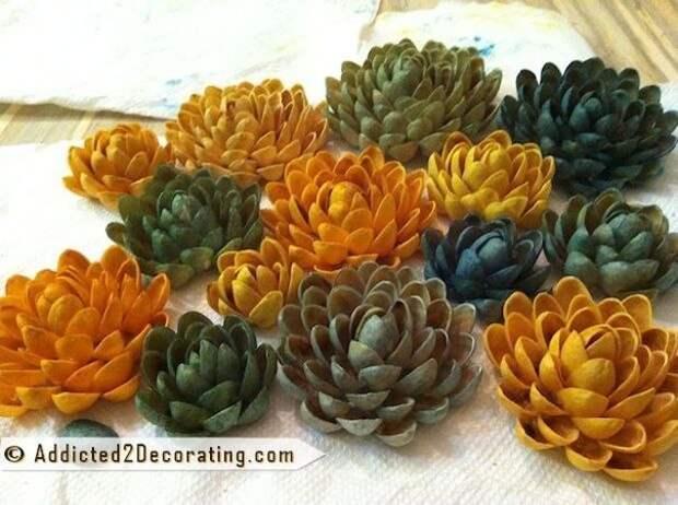 Фисташковые цветы