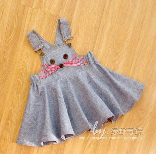 Сарафан кролик