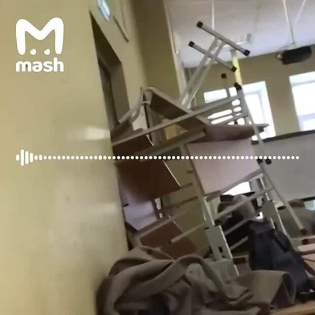 По словам очевидцев, в Пермском университете не сработала тревога, не было сделано...