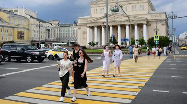 Температура воздуха в Москве превысила+30 °С