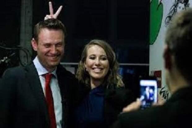 Рокировочка, понимаешь… Собчак и Навальный в поисках светлого будущего