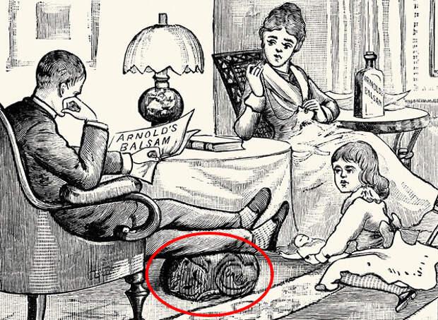 Только гении смогут найти на этом рисунке двух котов!